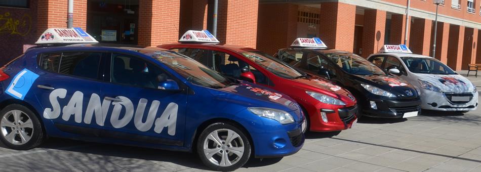 Autoescuela Sandúa lider en Formación Vial en Pamplona
